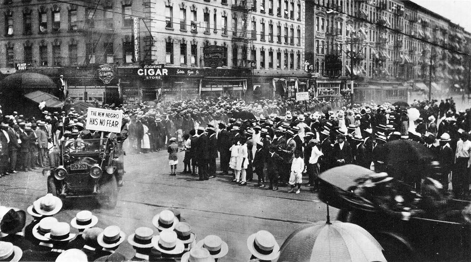 Members of the UNIA in Harlem (1924)