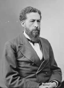 John Mercer Langston, then a professor at Howard University