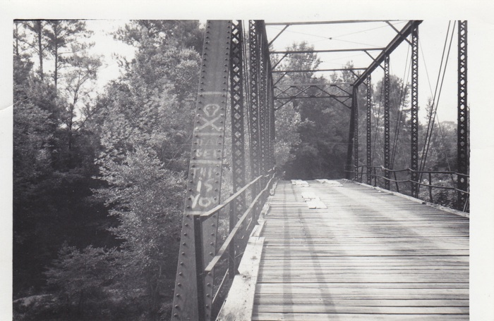 Hanging Bridge, 1966 (Courtesy of John Cumbler)
