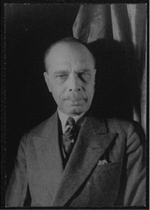James Weldon Johnson, 1932 (Photographed by Carl Van Vechten)
