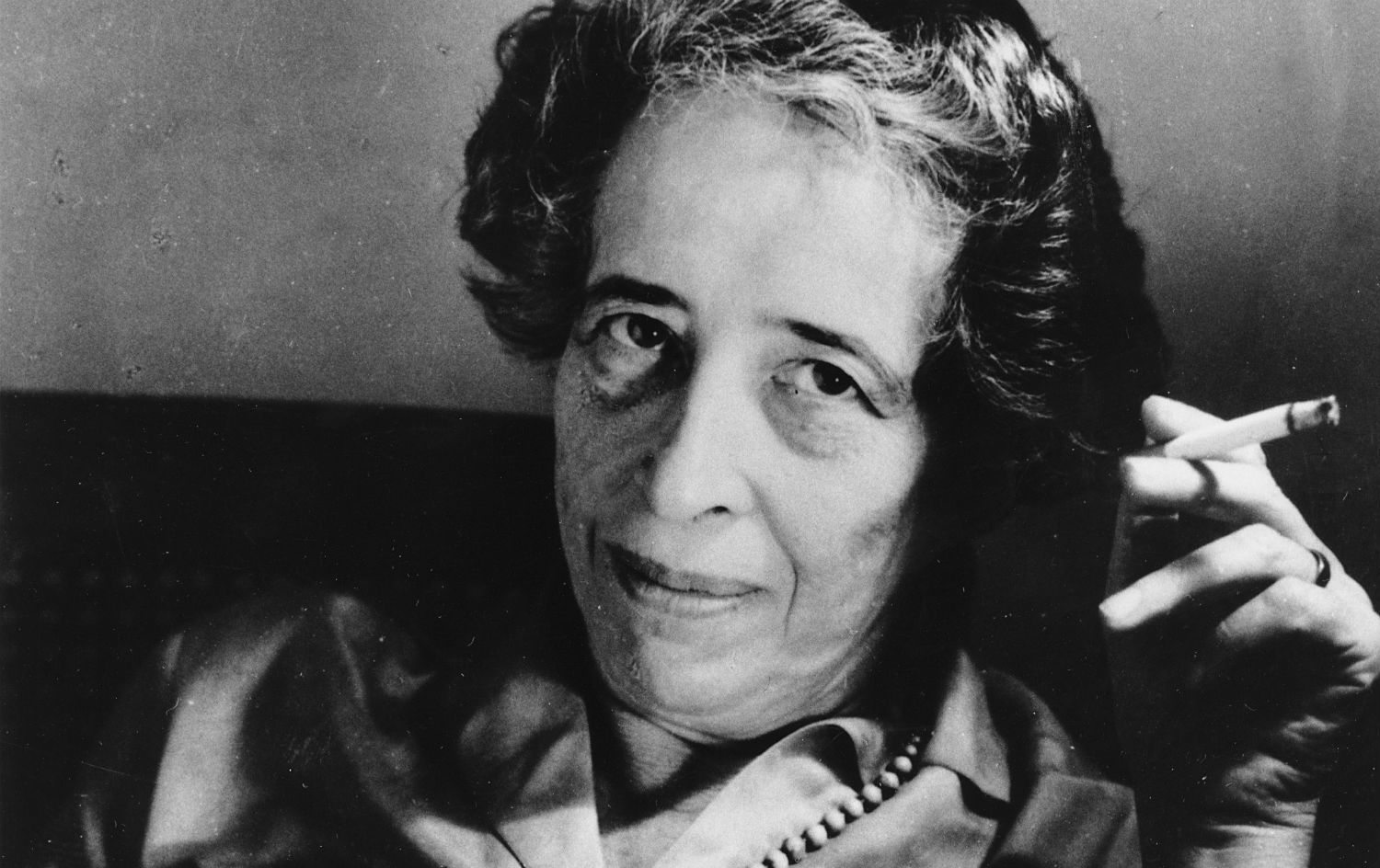 Hannah Arendt (copyright The Nation)