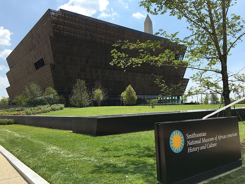 Exterior of the Smithsonian National Museum of African American History and Culture, July 20, 2016 Credit: Fuzheado