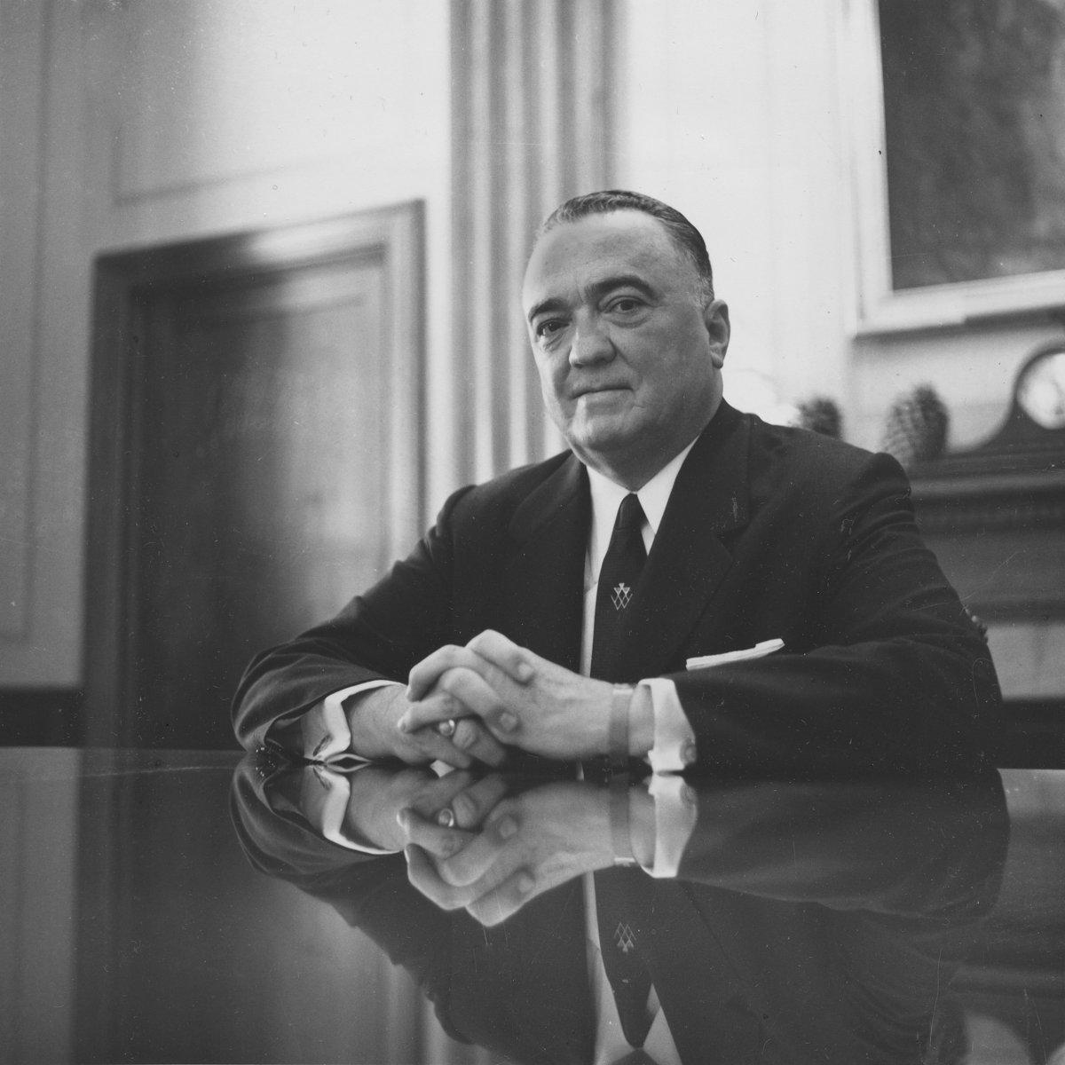John Edgar Hoover, director of the Federal Bureau of Investigation, is shown in this May 1959 photograph. (AP Photo)