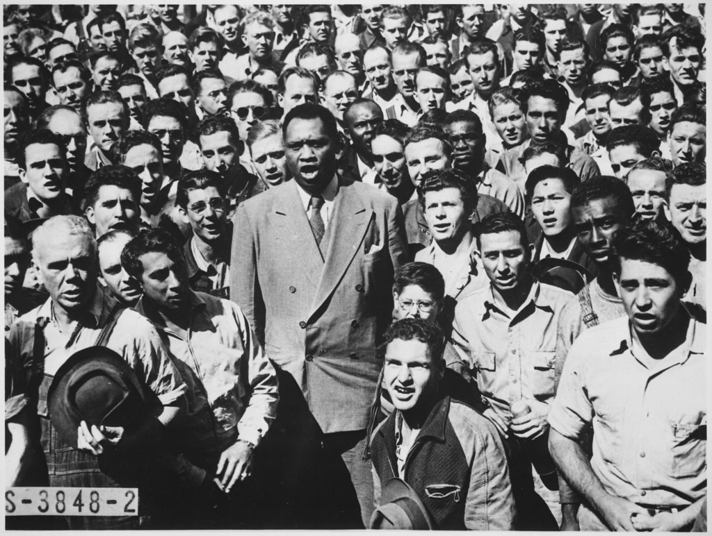 Paul Robeson in ...Robesonian Today
