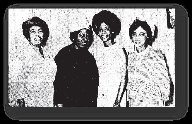 Lynne Shifflett in National Council of Negro Women Project in Watts, Los Angeles Sentinel, April 21, 1966.