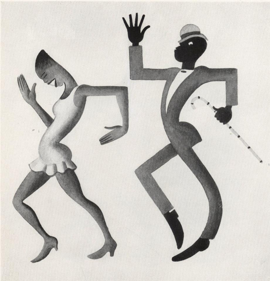 An image from Miguel Covarrubias' Negro Drawings (1997)