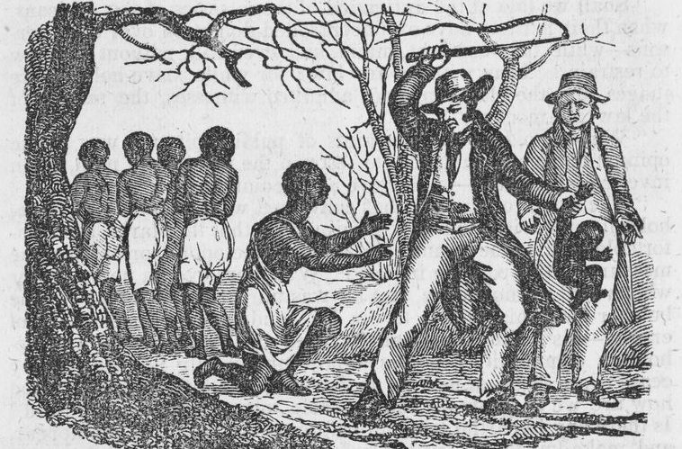 """""""Cruelties of slavery."""" The New York Public Library Digital Collections. 1835-05."""