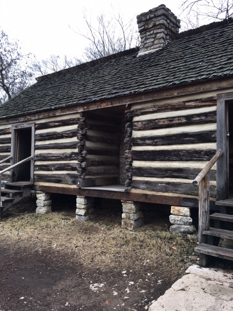 Slave Cabins at Belle Meade Plantation (Credit: Brandon Byrd).