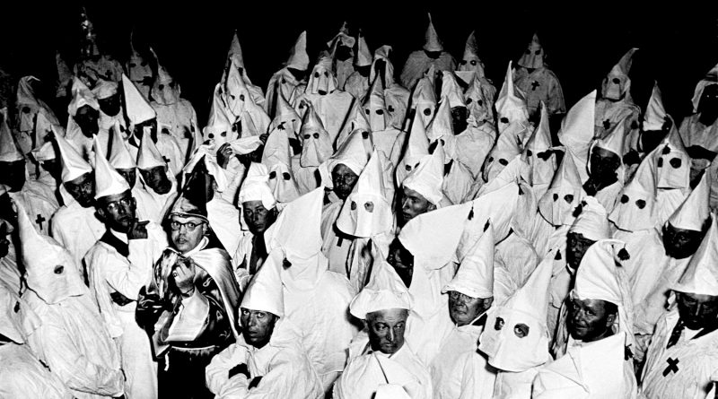 Ku Klux Klan meeting, South Carolina, 1951. Source: KulturCritic.