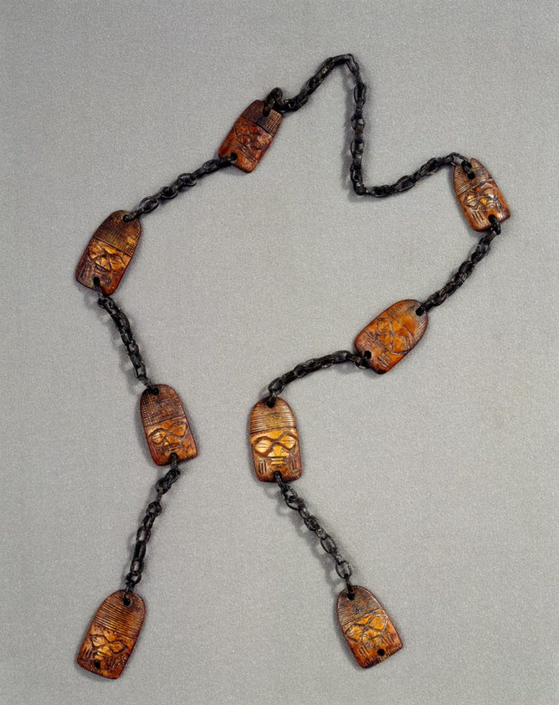 Yoruba divination chain. Photo: Fowler Museum at UCLA.