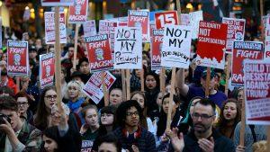 Protest against Donald Trump. Photo: Socialist Alternative.
