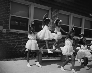 Anacostia, D.C. Frederick Douglass housing project. A dance group. Washington D.C, 1942. Photo: Gordon Parks, Library of Congress