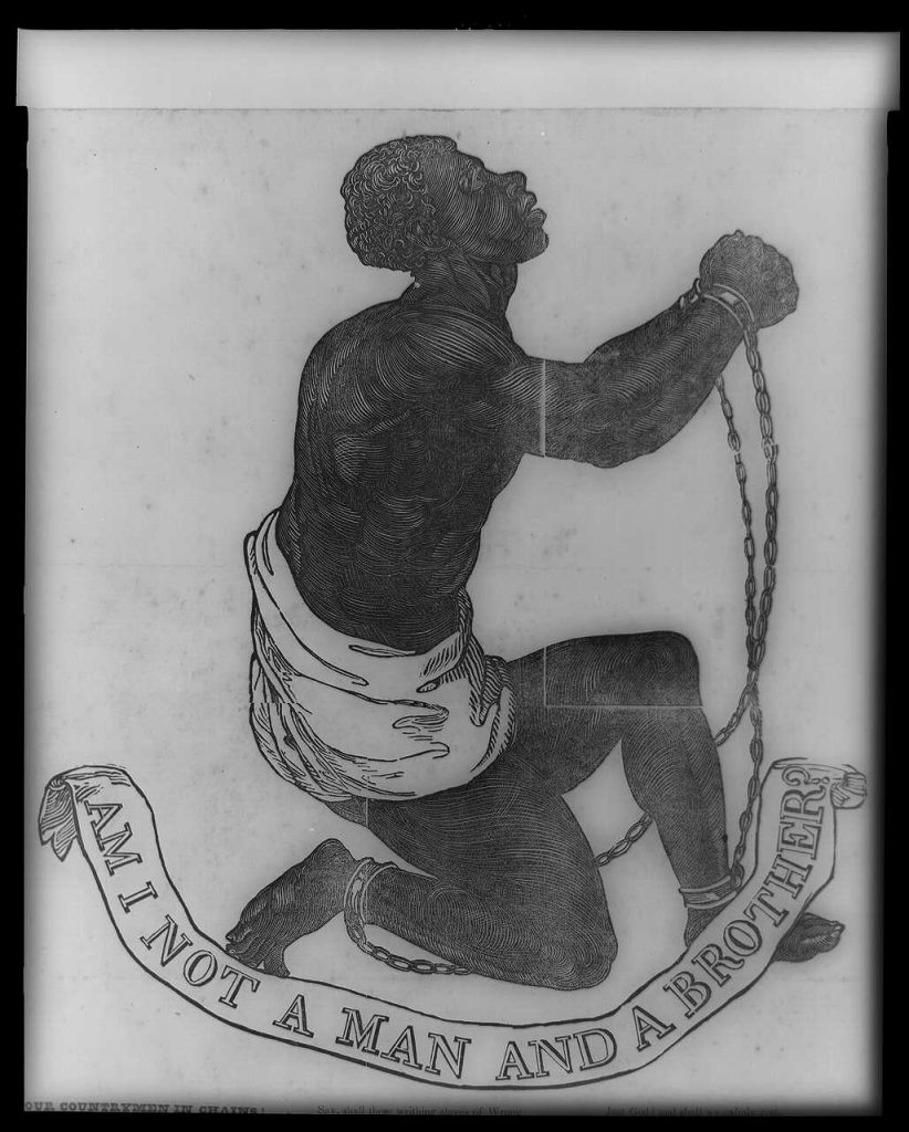 Josiah Wedgwood, 'Am I Not a Man and a Brother?' (1787). Photo: Library of Congress.