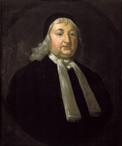 Judge Samuel Sewall (1729), Collection of the Museum of Fine Arts, Boston, Massachusetts.