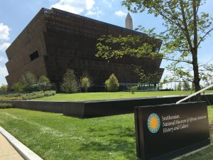 Smithsonian National Museum of African American History and Culture. Photo: Wikimedia.