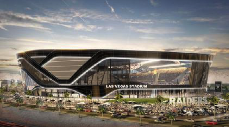 Las Vegas Stadium – Future home of the Las Vegas Raiders.