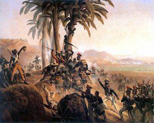 Battle at San Domingo, January Suchodolski, 1845. Photo: Wikimedia.
