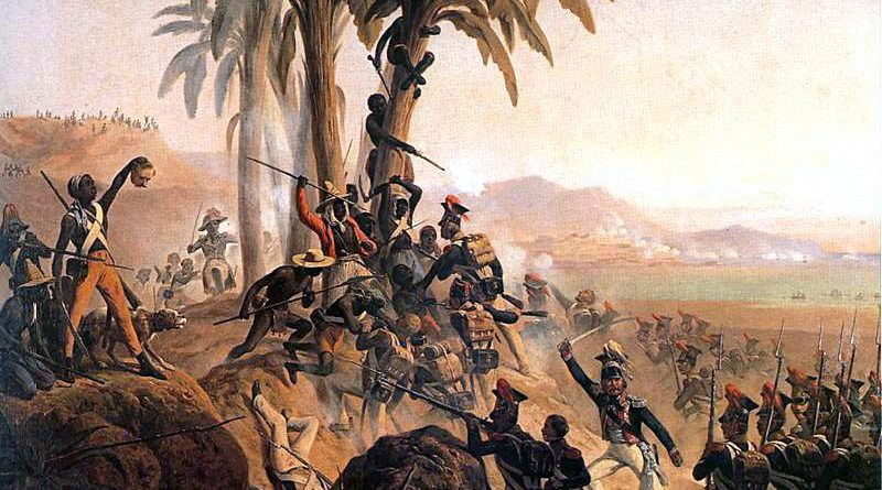 Battle at San Domingo, January Suchodolski, 1845. Photo: Wikimedia.