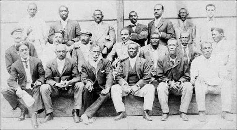 Members of the Partido de Independiente de Color de Cuba. Image: BlackPast.org/Public domain.