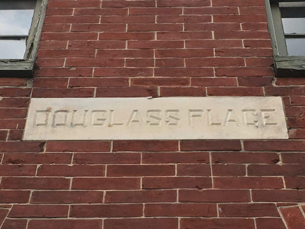 Douglass Place. Photo: Author.