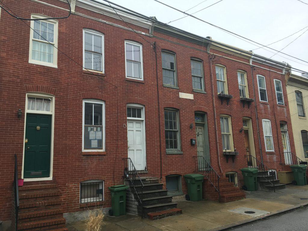 Douglass Row. Photo: Author.