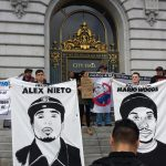 Black-Brown Unity to End Police Impunity rally. Photo: Ray Balberan.