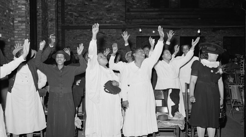 Black Women's Holy Ghost Work: Then and Now