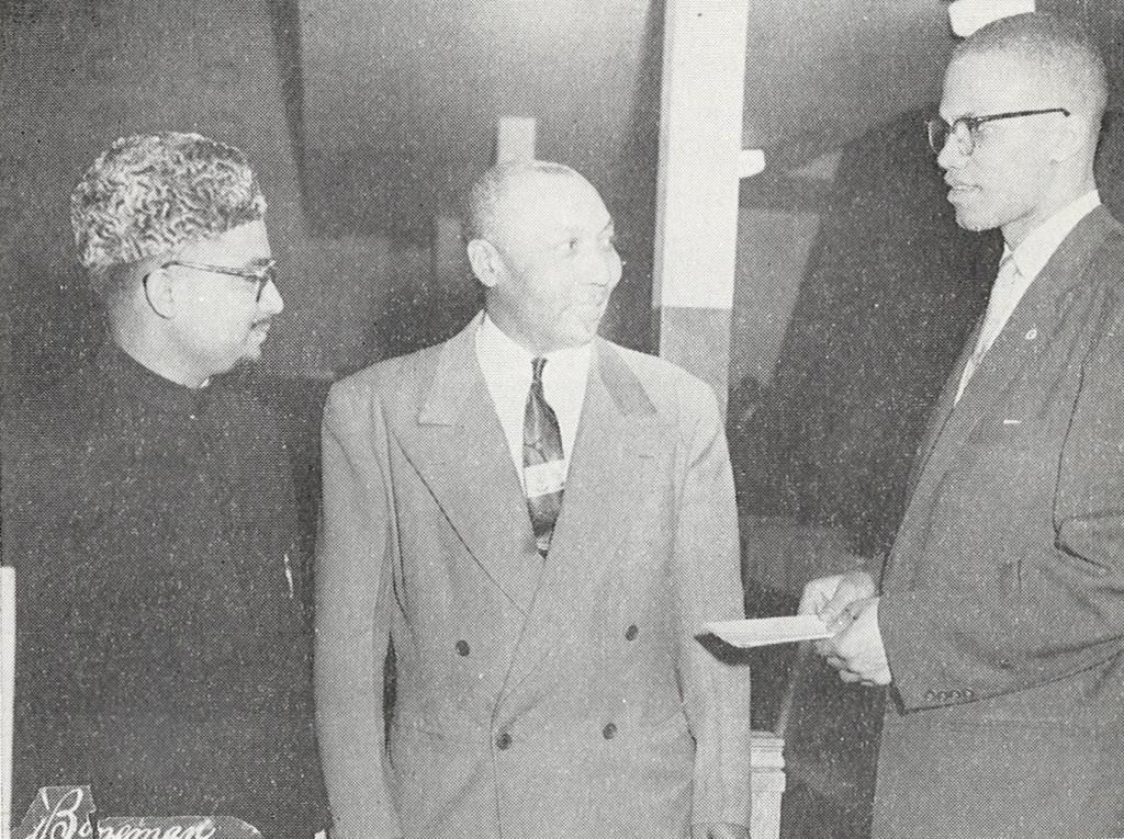 Abdul Basit Naeem, John Muhammad, and Malcolm X (1957)