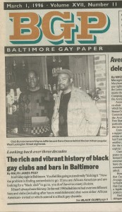 BGP The Rich and Vibrant History of black gay clubs and bars in Baltimore -pic 4