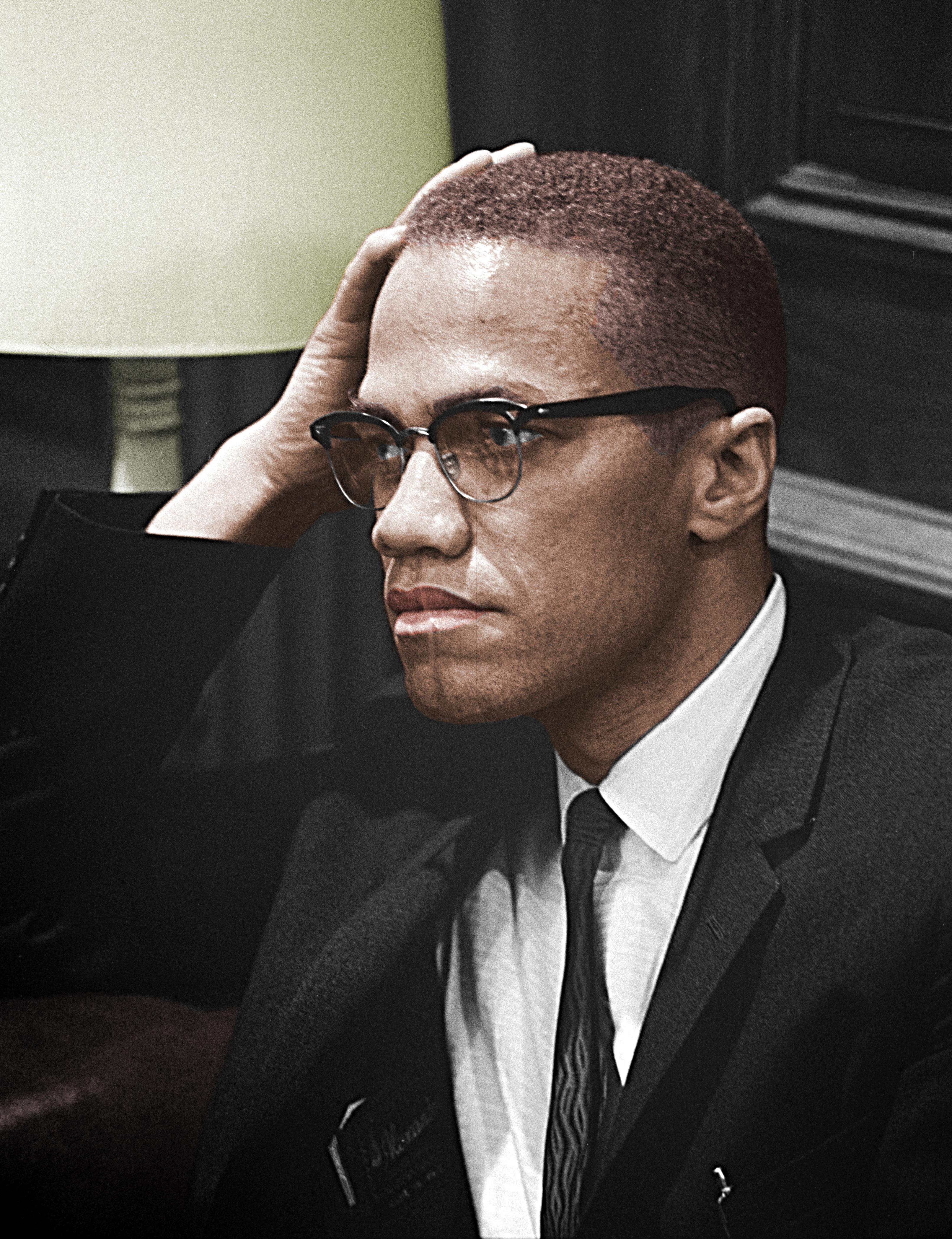 Malcolm X (Wikimedia)