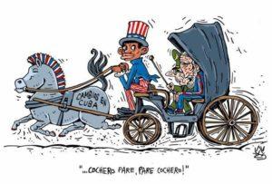 Cochero cartoon