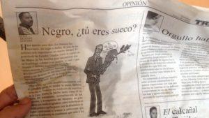 Image of Negro, tu eres sueco?