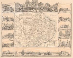 Intro. Plano Pintoresco de la Habana 1853 M-521 ANC 2013
