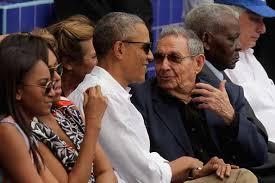 Obama and Castro baseball 2