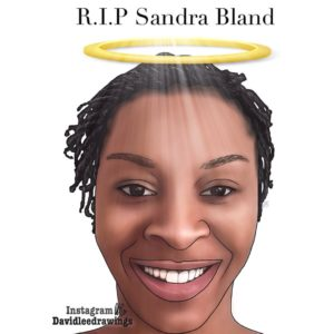 RIP Sandra Bland by DavidLeeIllustrations