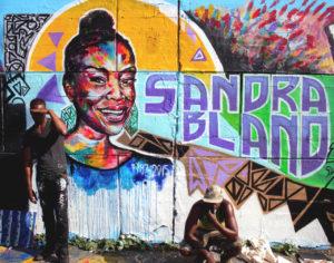 Sandra Bland Mural by Artist Against Police Violence