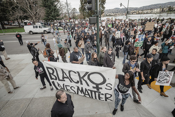 Millions March: Oakland, Photograph by Amir Aziz, 2014 / Flickr