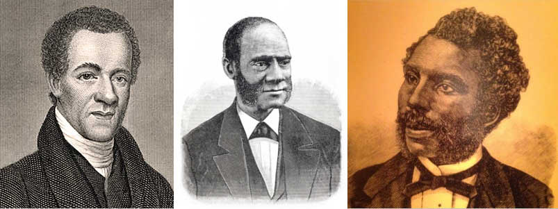 Samuel Cornish, Henry Highland Garnet, William J. Watkins