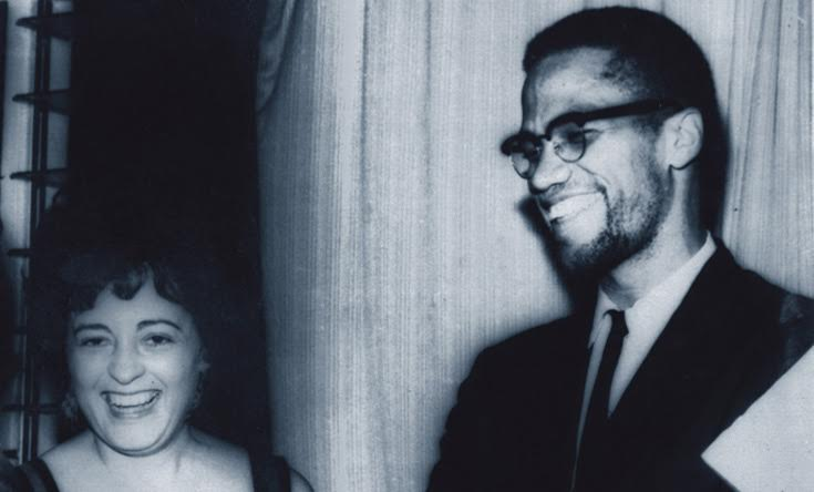 Dr. Ana Cordero and Malcolm X, Courtesy of Schlesinger Library, Harvard University