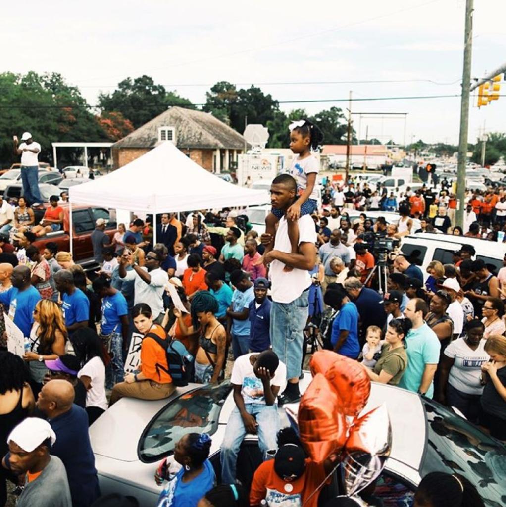 Patrick Melon / Baton Rouge protests