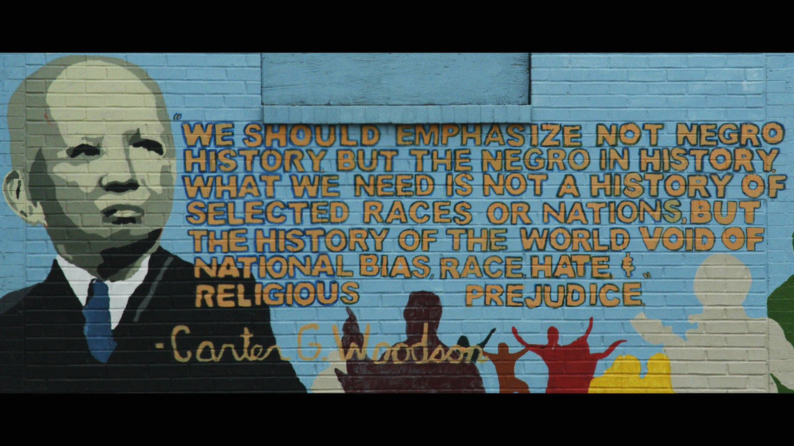 A mural near the Carter G. Woodson Home National Historic Site, Washington, D.C. (courtesy of https://www.npca.org/)