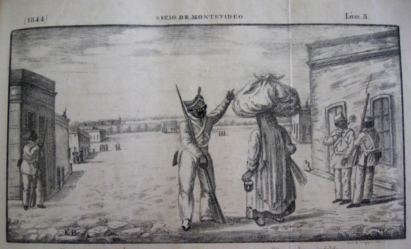 El Telegrafo de Linea, Montevideo, December 8, 1844