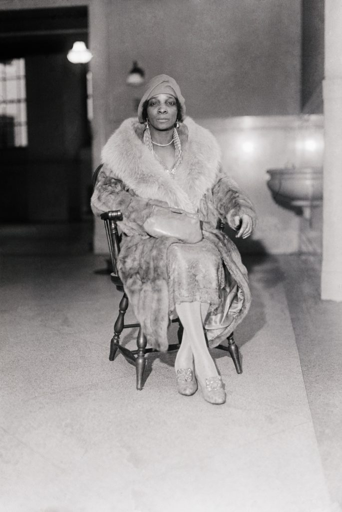 Harlem Numbers Banker Madame Stephanie St. Clair. (Courtesy of Morgan and Marvin Smith Photographic Collection, Schomburg Center for Research in Black Culture New York Public Library)