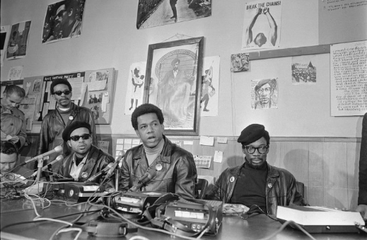 Black Panther Party Press Conference Credit: UCLA Library Digital Collections, Los Angeles Times Photographs Collection