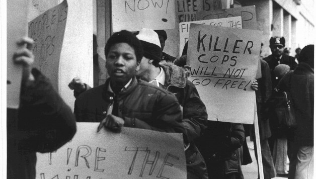 Riots in Harlem, 1964. Photo: www.newyorknatives.com.