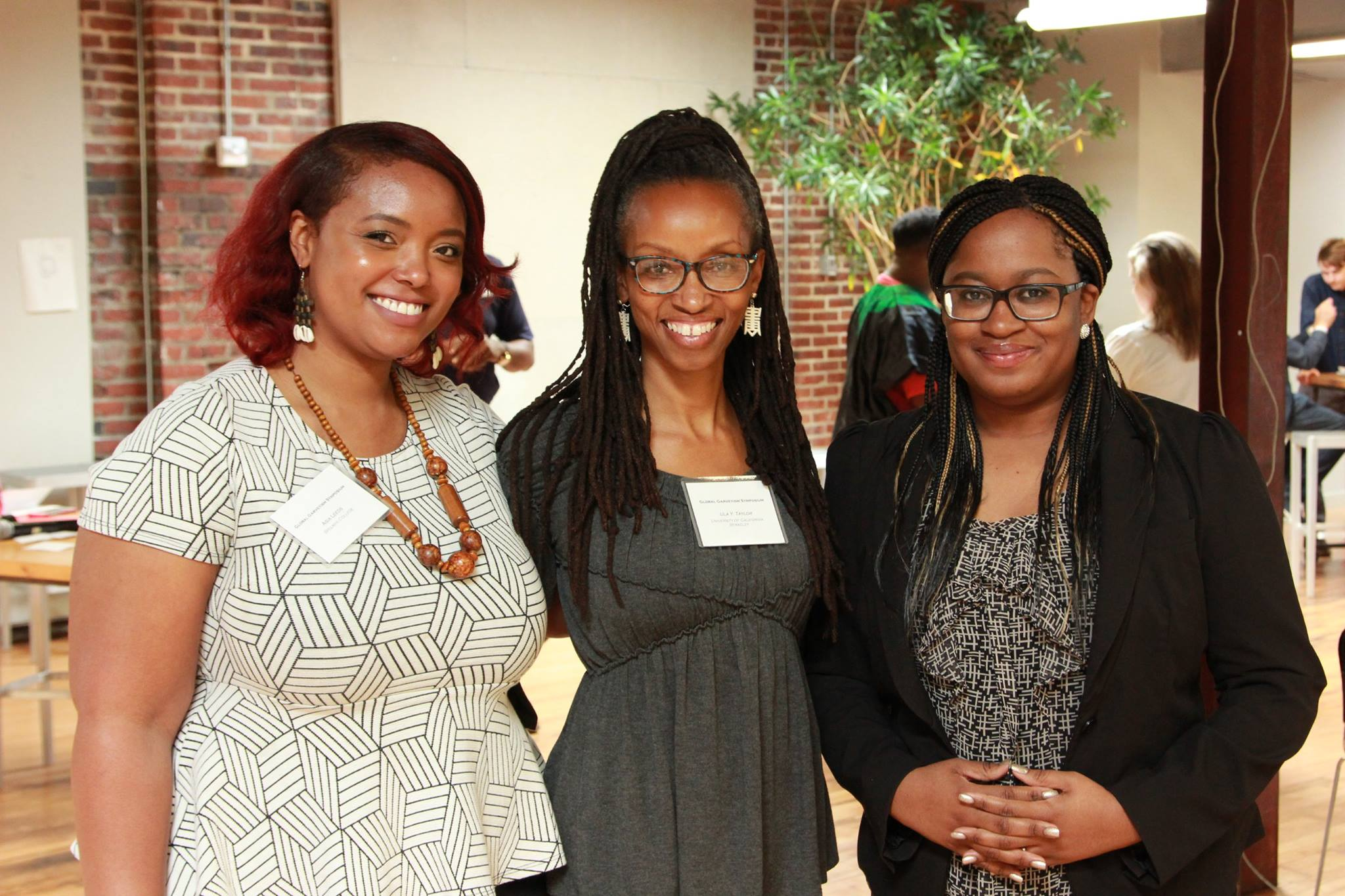 Asia Leeds, Ula Taylor and Keisha Blain at the 2016 Global Garveyism Conference at Virginia Commonwealth University (Image Credit: Chioke A. Ianson)