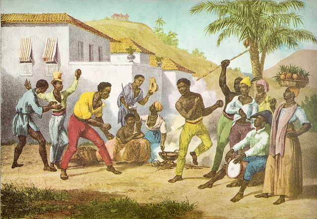 capoeira-or-the-dance-of-war-by-johann-moritz-rugendas-1825