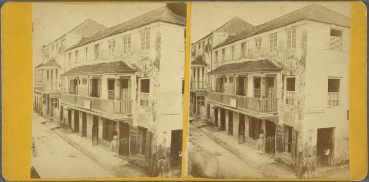 Heigh Street, Barbados, 1865 (Credit Schomburg Center for Research in Black Culture, Photographs and Prints Division)