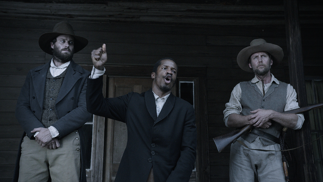 A scene from Nate Parker's The Birth of a Nation.