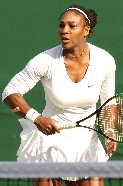 Serena Williams. Source: Wikipedia Commons.